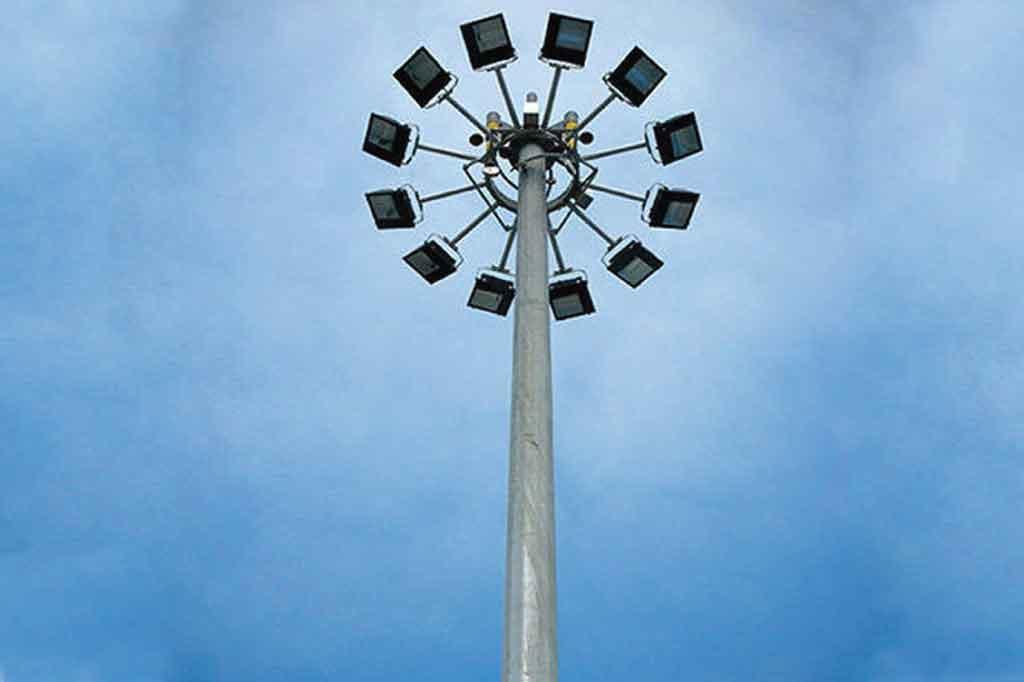 Led High Mast Light Dealer Price Goa Supplier Wipro